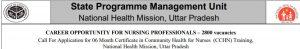 UP NHM CHO Recruitment